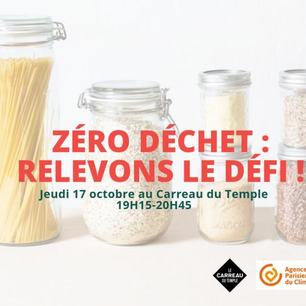 Conférence Zéro Déchet : relevons le défi !
