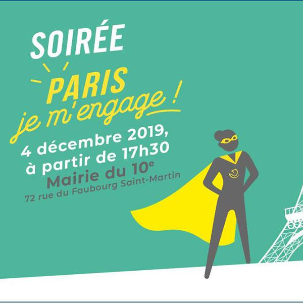Soirée Paris je m'engage