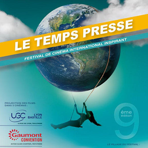 Affiche festival Le Temps Presse