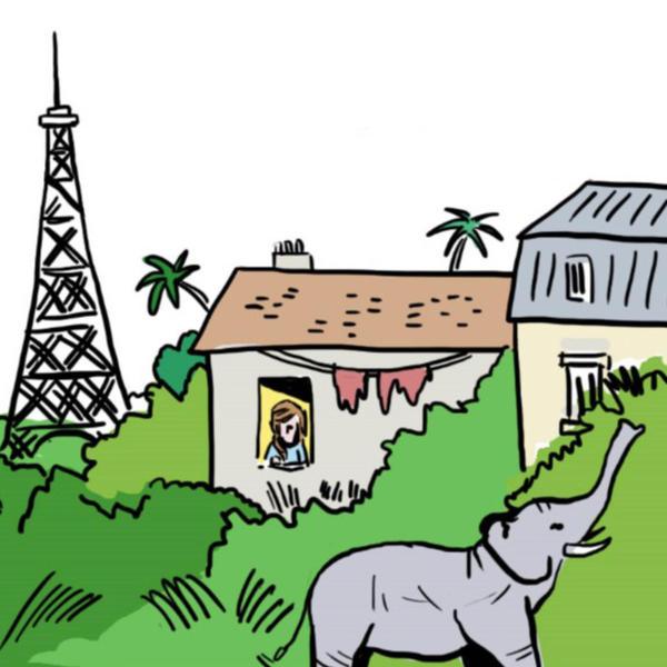 Concilier préservation de la biodiversité et urbanisme à Paris (compte-rendu dessiné du Café Climat du 8/09/2020)