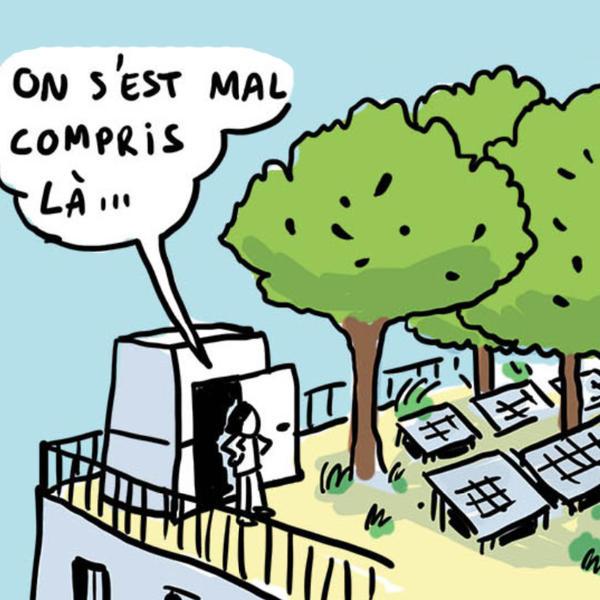 Bande dessinée solaire