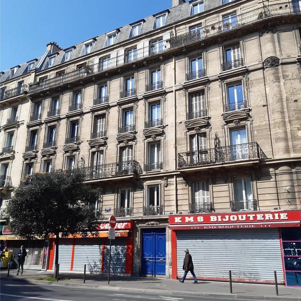 199 rue du Faubourg Saint-Denis © APC