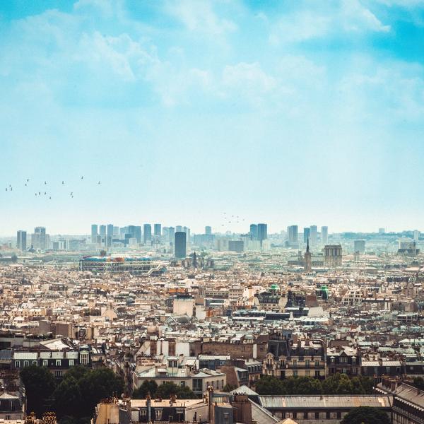 Vue aérienne de Paris - Crédit : William Krause