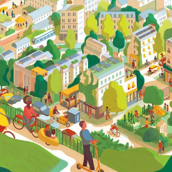 Illustration Rapport d'activité APC 2020 © Sarah Williamson