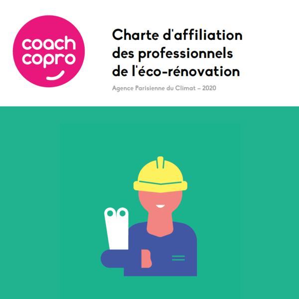 Charte d'affiliation des professionnels de l'éco-rénovation