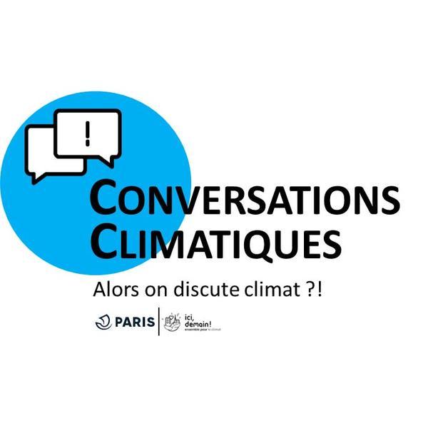 Visuel conversations climatiques