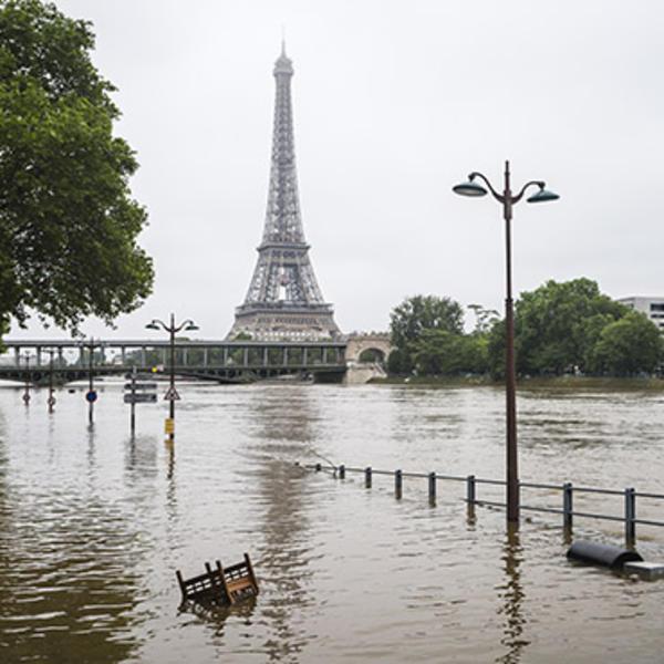 Crue de la Seine © Sebastien Rabany - AdobeStock