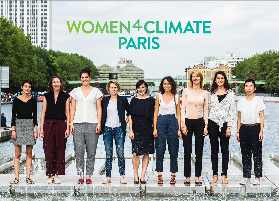 Les lauréates de Women4Climate Paris