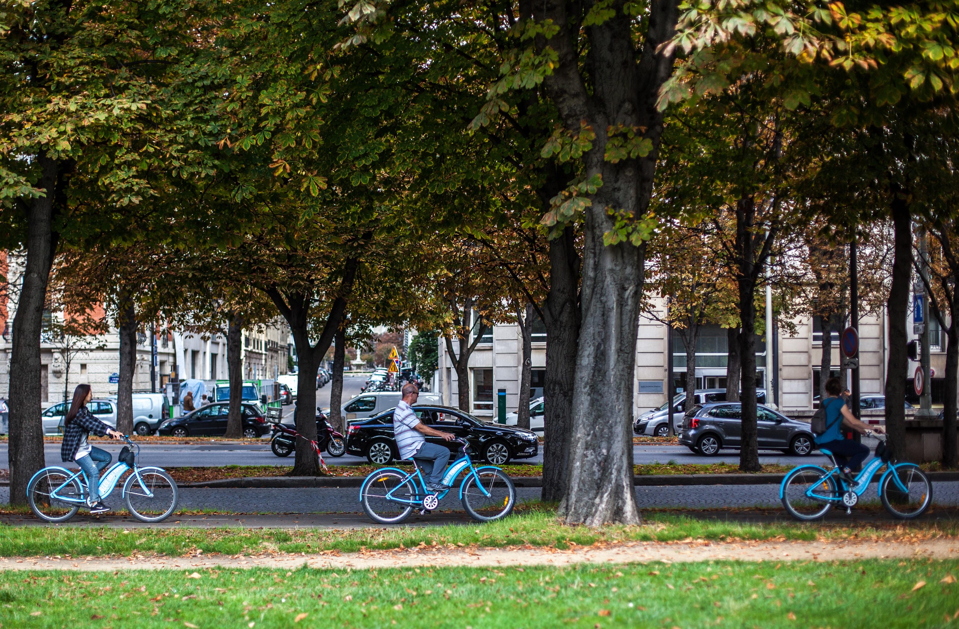 Balade à vélo à Paris